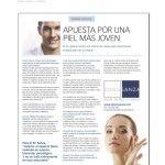 Reportaje sobre los tratamientos faciales de Clínica Sanza. Revista Polo