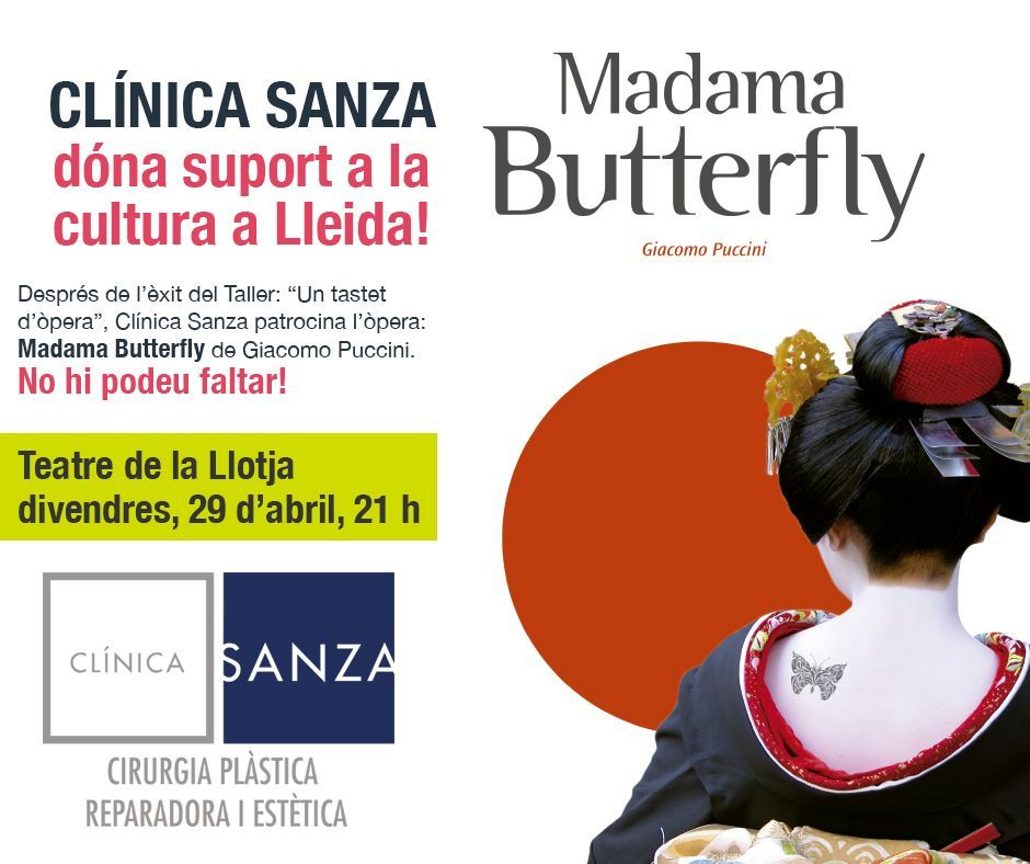 MADAME BUTTERFLY opera clinica sanza