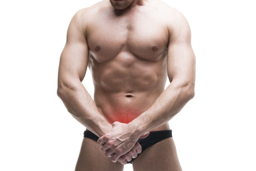 genitales hombre, lipolaser pubico masculino