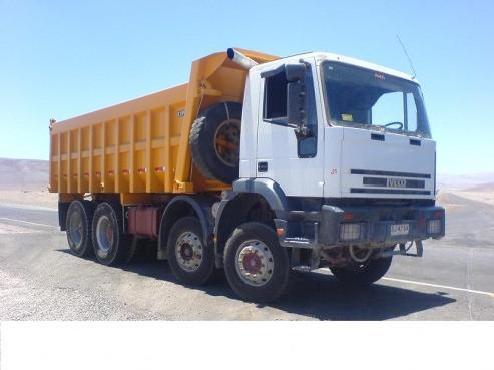 Podríamos llenar este camión hasta arriba con los 20.000 Kg de grasa