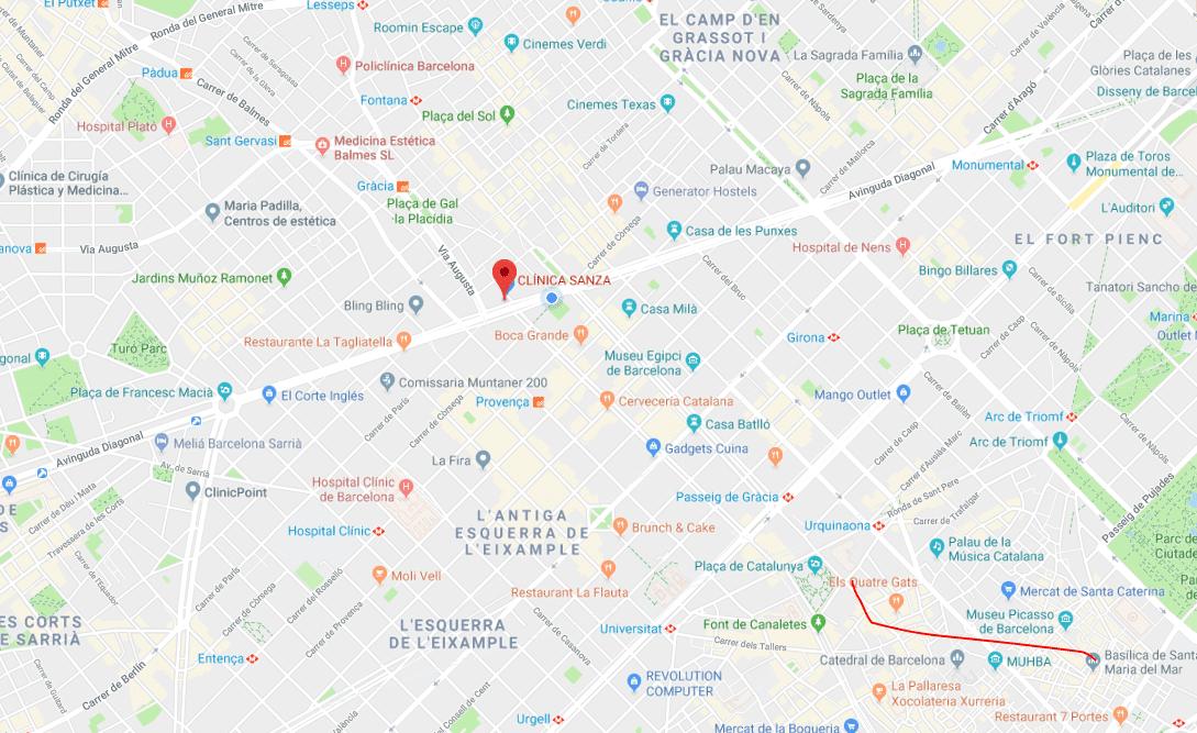 Clínica de cirugía plástica y cirugía estética en Barcelona - Clínica Sanza