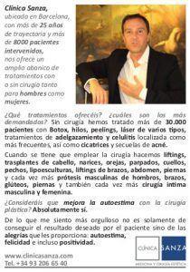 EL PAÍS - entrevista al Dr Sanza
